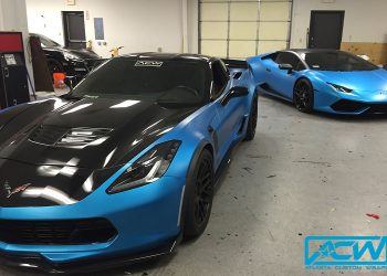 Atlanta Custom Wraps Shop Cars in Satin ACW Blue