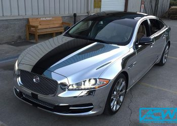 Jaguar in Avery Silver Chrome
