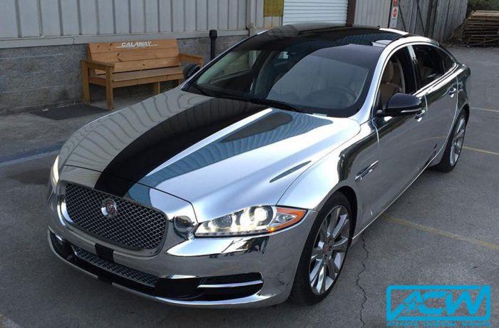 Jaguar in Avery Silver Chrome