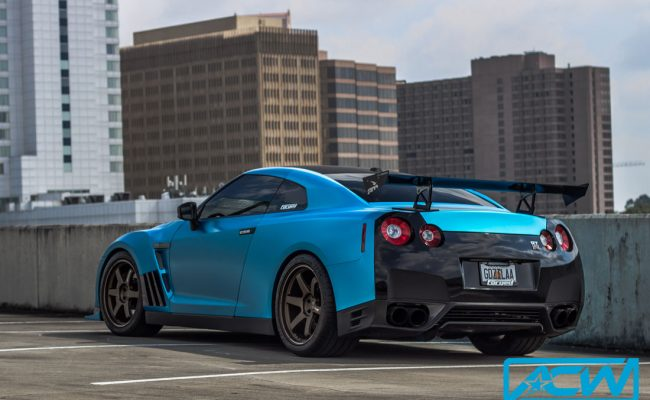 GTR-custom-3M-blue-Custom-Vinyl-Wrap