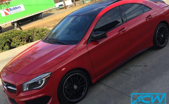 Mercedes-Benz-CLA-AMG-1Custom-Vinyl-Wrap