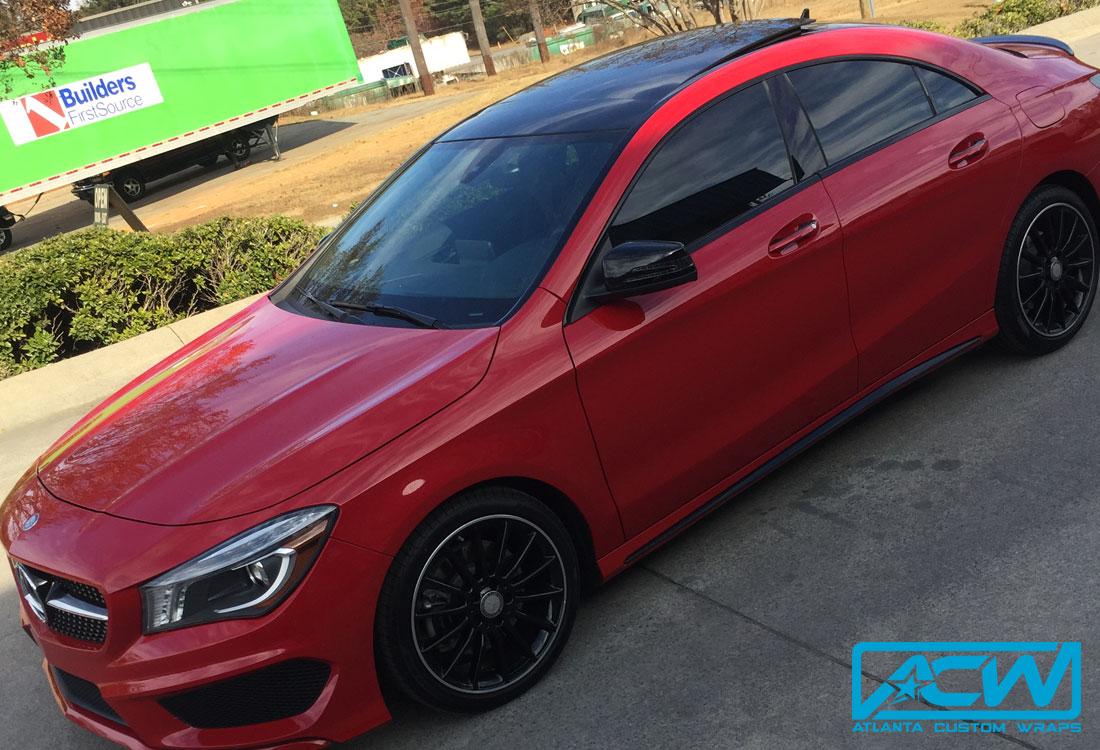Mercedes Benz Amg Chrome Delete With Gloss Black Atlanta