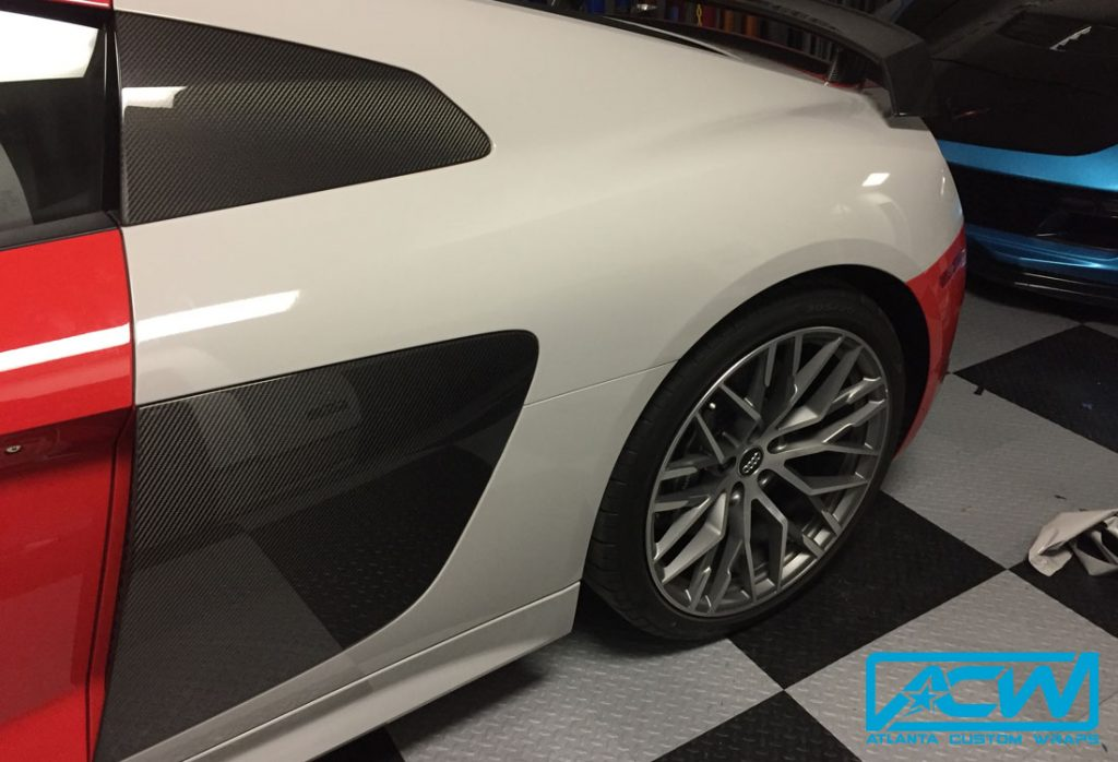 Audi Dealership Atlanta >> 2017 Audi R8 3M Gloss Storm Grey - Atlanta Custom Wraps