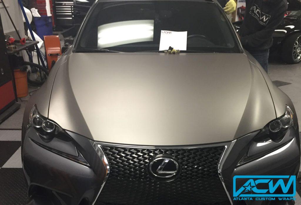 Bmw Of Atlanta >> 2014 Lexus F Sport Matte Gunmetal - Atlanta Custom Wraps