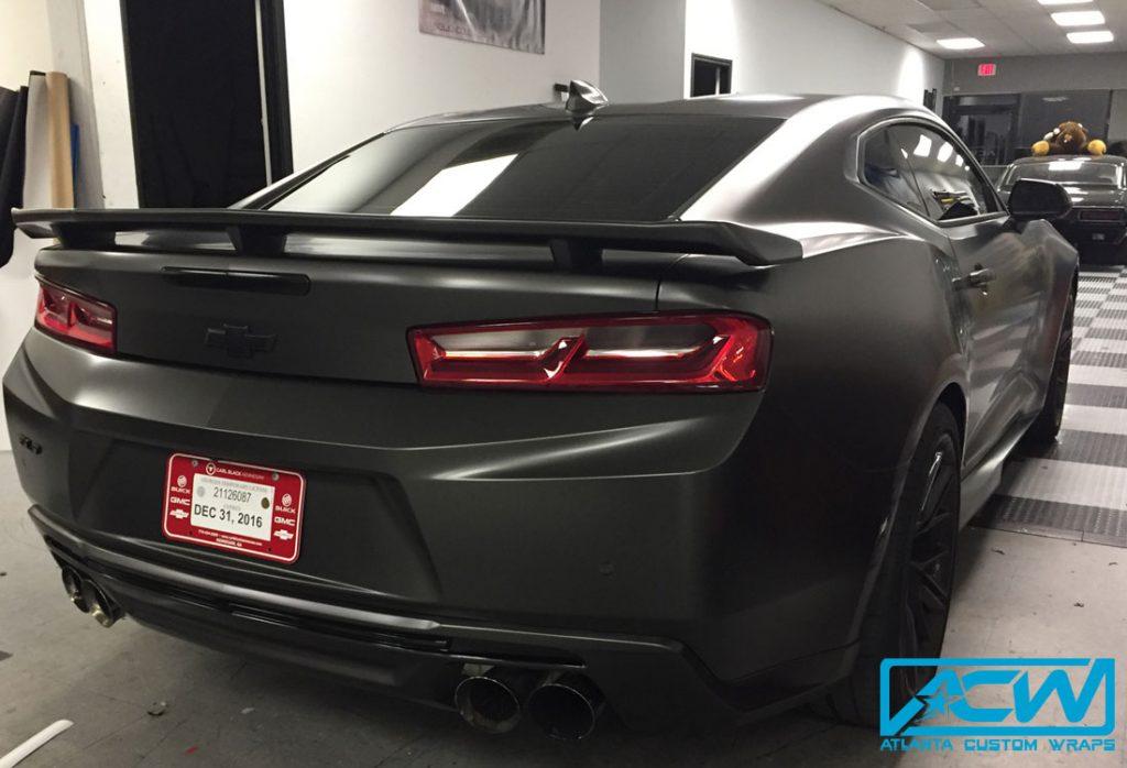 2017 Camaro Zl1 Full Wrap Atlanta Custom Wraps