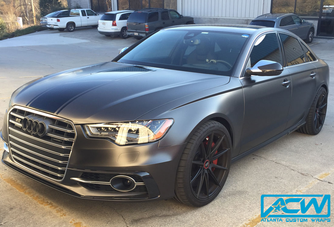 2015 Audi S6 Full Color Change Atlanta Custom Wraps