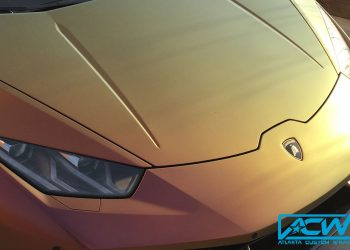 2015 Lamborghini Huracan in Avery Satin Roaring Thunder