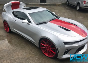 2016 Camaro SS Stripes