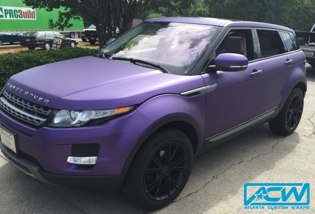 2013 Range Rover Evoque - Atlanta Custom Wraps