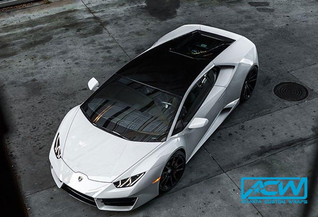 2017 Lamborghini Huracan Accent Wrap Atlanta Custom Wraps