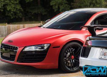 2015 Audi R8 Satin Smoldering Red