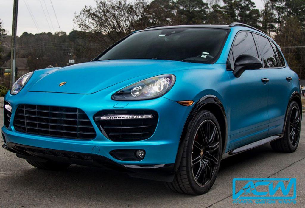 2014 Porsche Cayenne Gts Full Wrap Atlanta Custom Wraps
