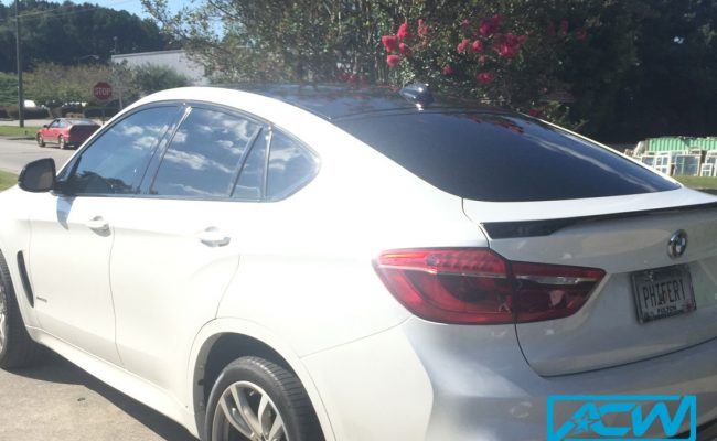 Custom-Vinyl-Wrap-roof-wrap-bmw-x6