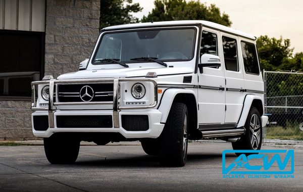 2016 Mercedes G Wagon in 3M Satin White