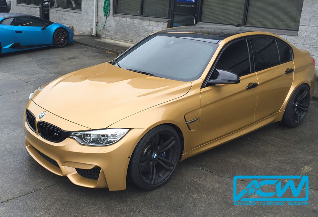 650i Gran Coupe >> 2016 BMW M3 - Atlanta Custom Wraps