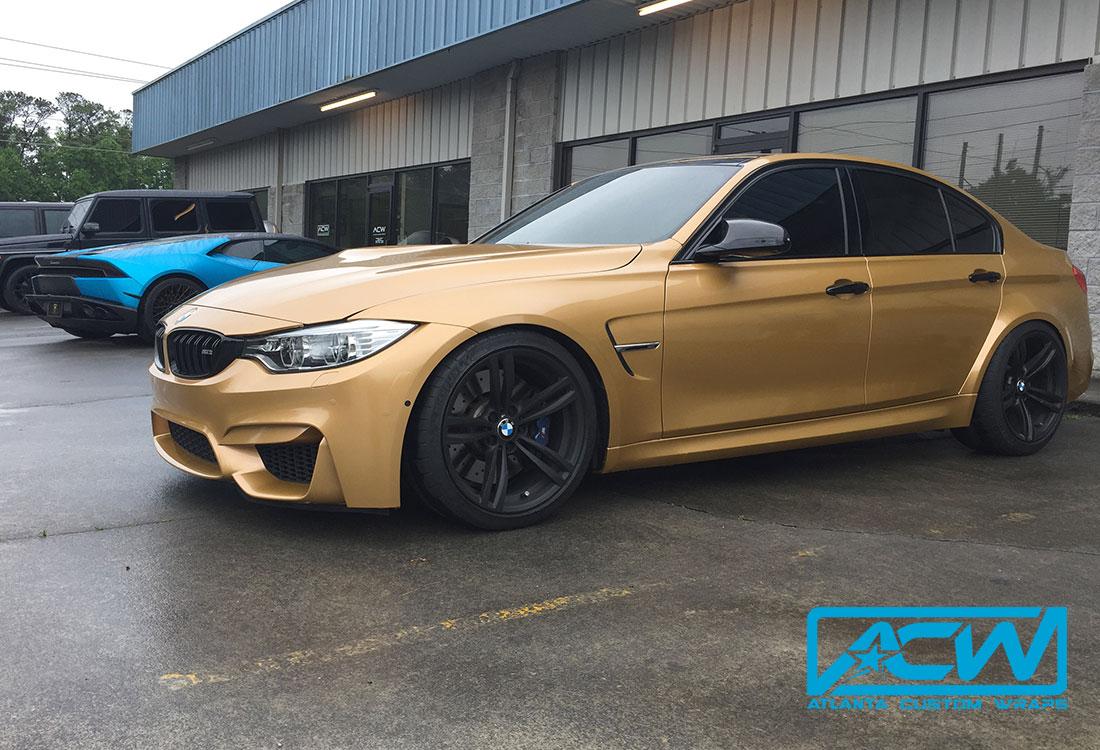 2016 Bmw M3 Atlanta Custom Wraps