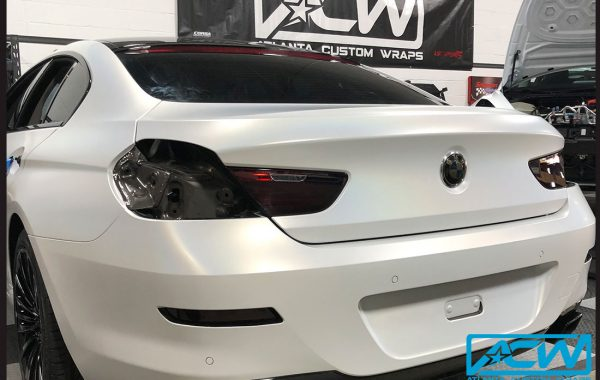 2017 BMW 650i Gran Coupe Brown Metallic to Flip Ghost Pearl
