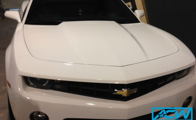Custom-Vinyl-Wrap-Camaro-hood-before