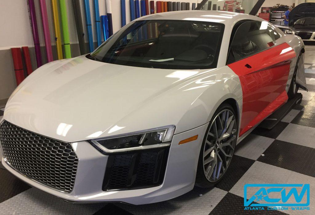 Audi Dealership Atlanta >> 2017 Audi R8 3M Gloss Storm Grey - Atlanta Custom Wraps