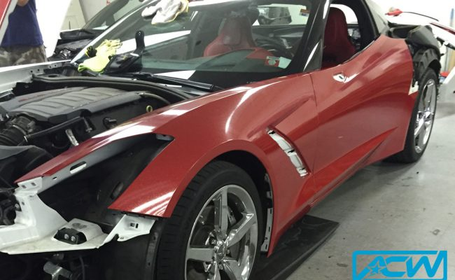Stingray-Diamond-Red-Custom-Vinyl-Wrap
