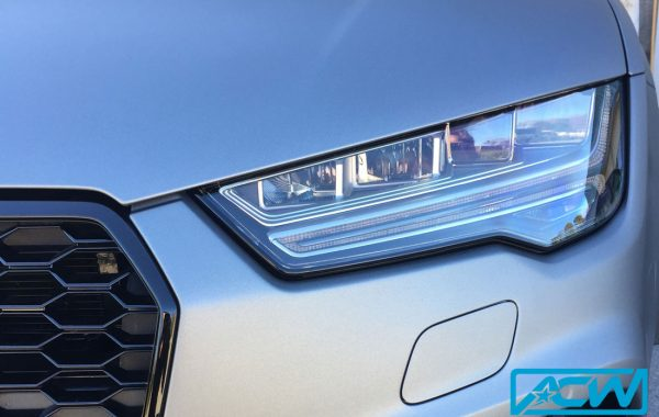 Audi RS7 Custom Wrapped in Matte Gunmetal Metallic