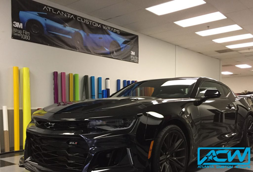 2017 Camaro Zl1 Full Wrap Atlanta Custom Wraps