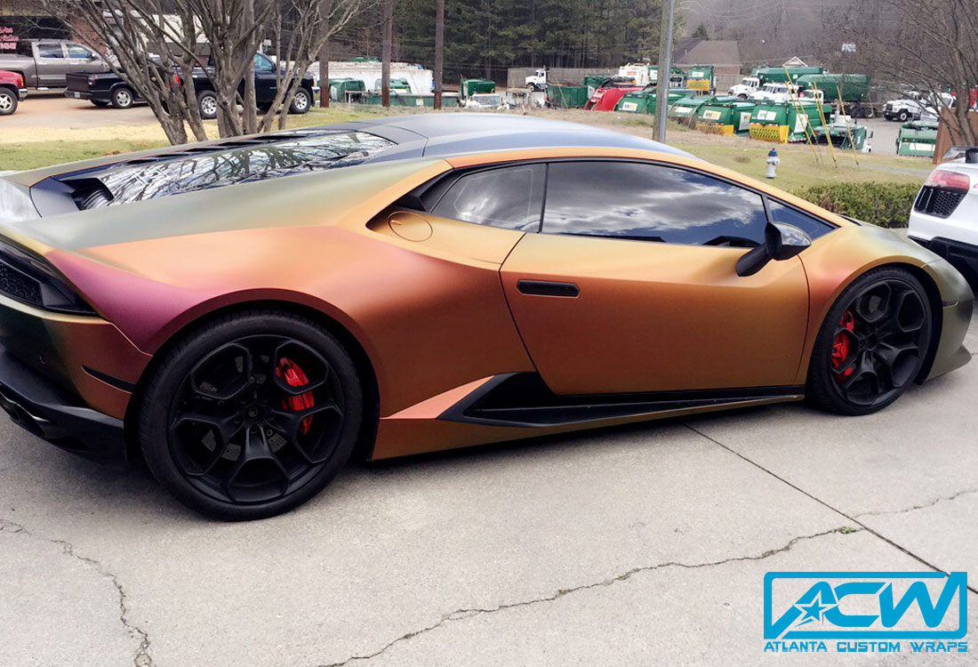 Custom G Wagon >> 2015 Lamborghini Huracan in Avery Satin Roaring Thunder ...