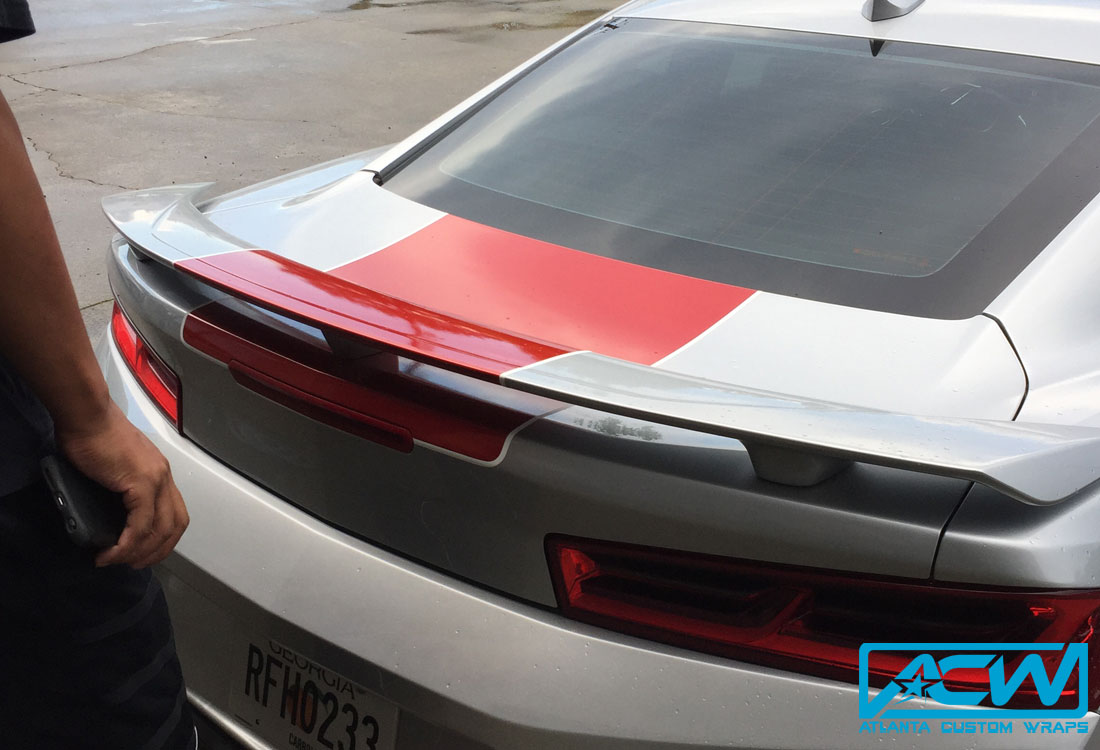 Camaro 2018 Ss >> 2016 Camaro SS Stripes - Atlanta Custom Wraps