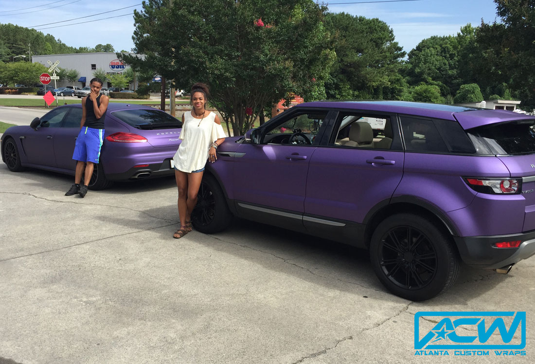 2013 Range Rover Evoque Atlanta Custom Wraps