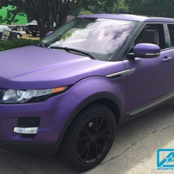 Custom-Vinyl-Wrap-matte-purple-Range-Sport
