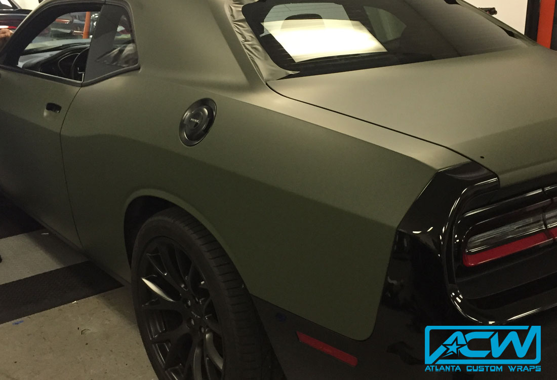 challenger dodge custom wrap hellcat wraps vinyl previous