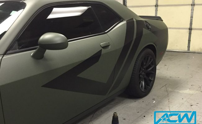 Custom-Vinyl-Wrap-matte-military-green-wrap-3m