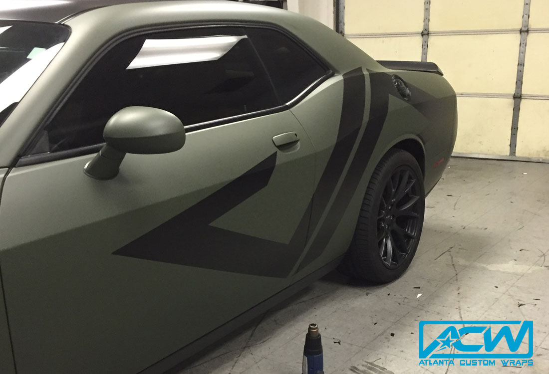 Matte Car Wraps - Atlanta Custom WrapsAtlanta Custom Wraps