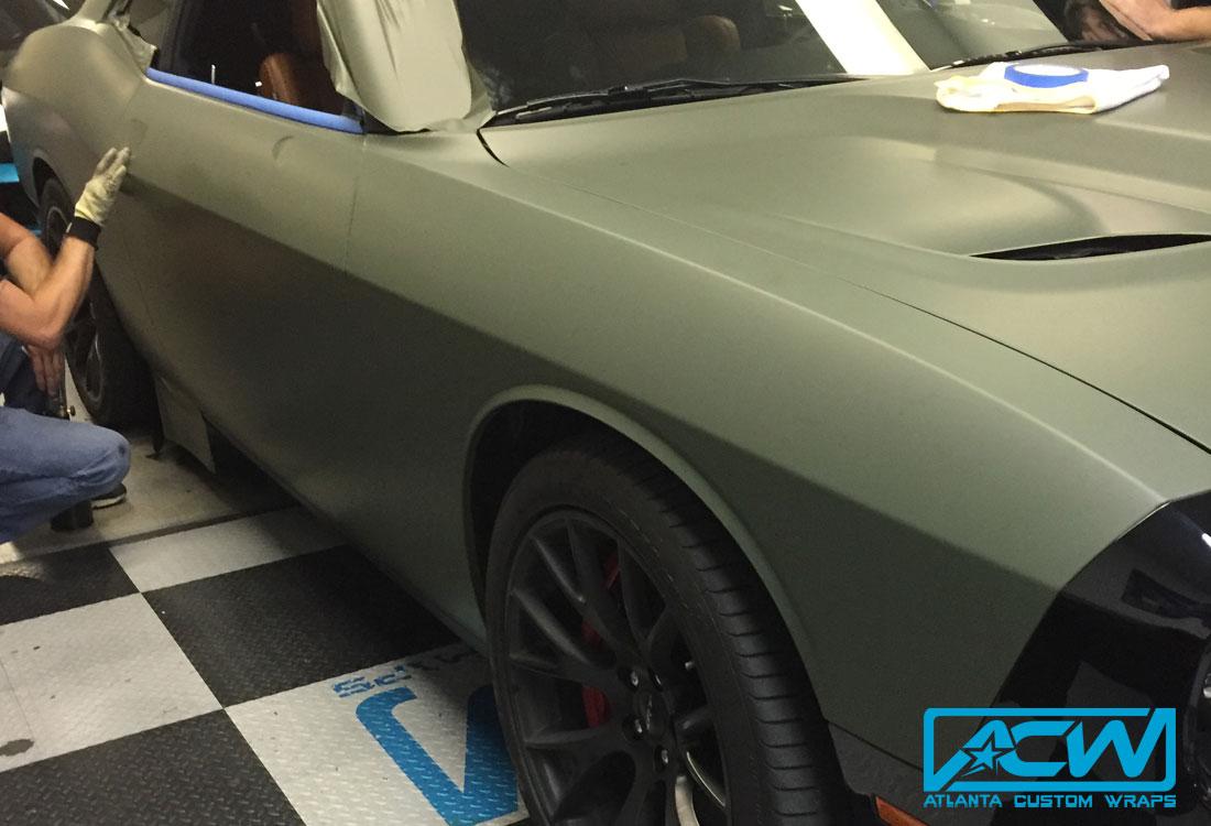 2016 Dodge Challenger Hellcat - Atlanta Custom Wraps